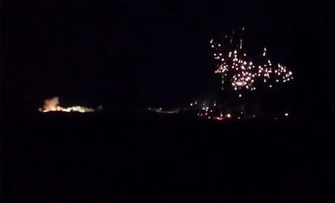 BAAS rejim güçleri İdlib'e fosfor bombası attı