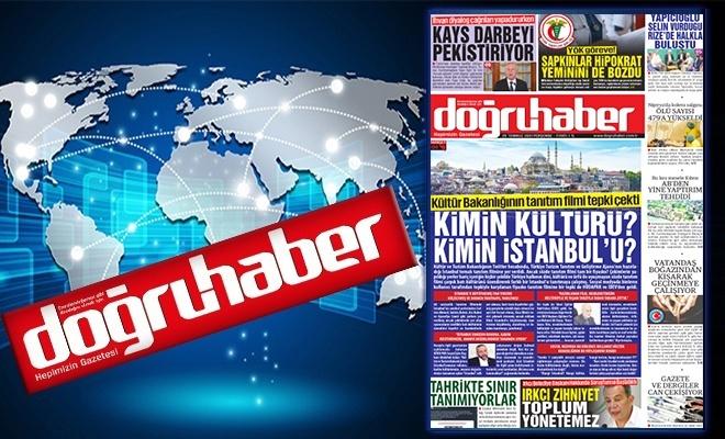 Kültür Bakanlığının tanıtım filmi tepki çekti  KİMİN KÜLTÜRÜ?  KİMİN İSTANBUL'U?