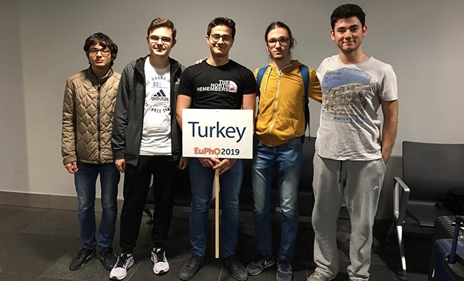 Fizik Olimpiyat Takımımız Avrupa birincisi oldu