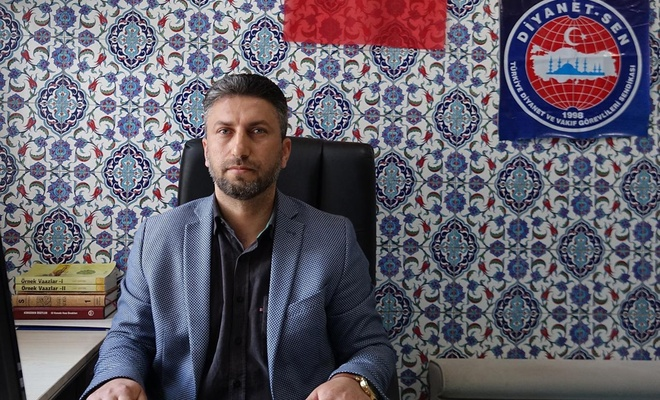 Ali Erbaş'a bir destekte Viranşehir'den geldi
