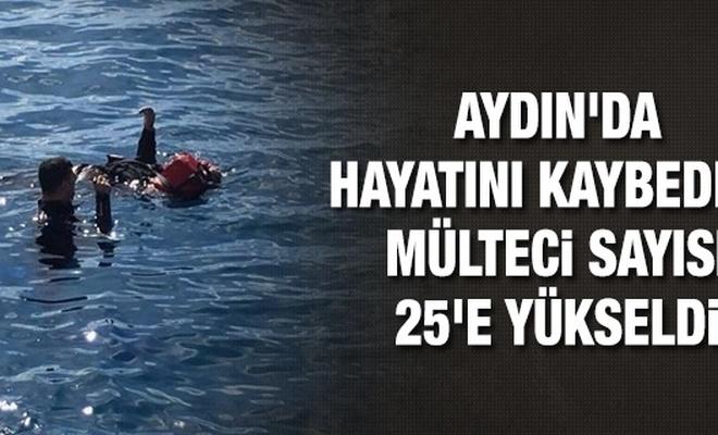 Aydın`da hayatını kaybeden mülteci sayısı 25`e yükseldi