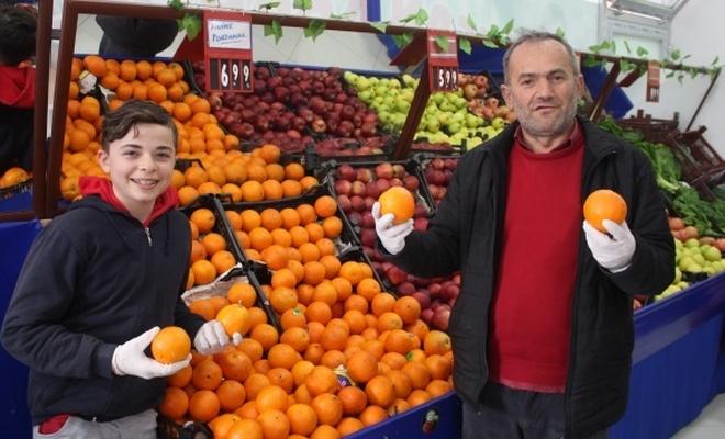Vatandaş korona virüse karşı turunçgillere akın etti