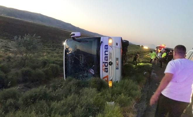 Aksaray'da kaza: 22 yaralı
