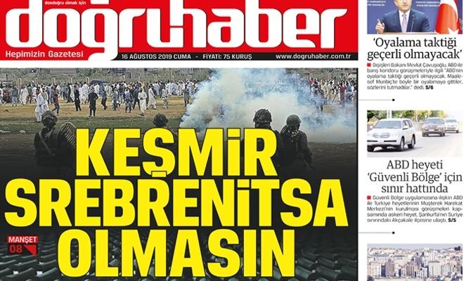 Keşmir, Srebrenitsa olmasın