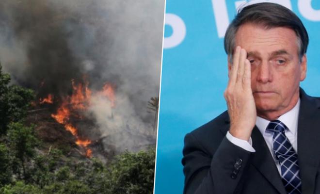 Bolsonaro: Amazon'un yandığına dair hikayeler yalan