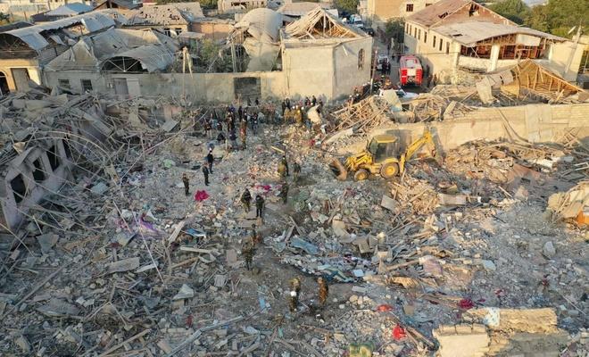 MSB: Ermenistan bir kez daha sivil yerleşim yerlerini füzeyle vurdu