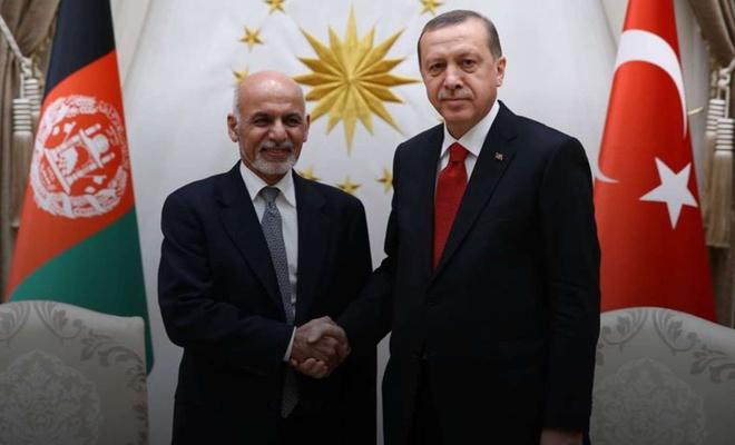 Cumhurbaşkanı Erdoğan, Afganistan Cumhurbaşkanı Gani ile telefonda görüştü