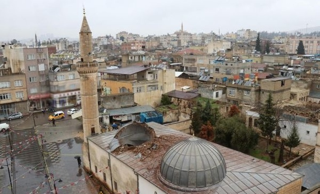 PKK`nin hedef aldığı Çalık Camii aralık ayında ibadete açılacak