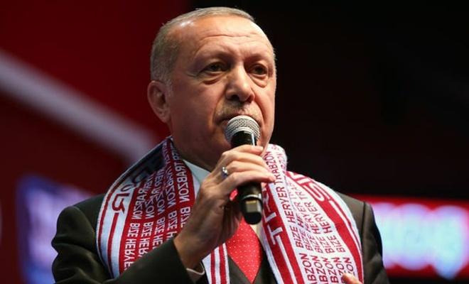 Erdoğan: Trump, kimin arazisini israile veriyorsun!