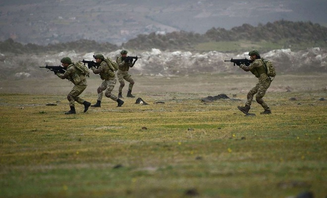 4 PKK/YPG members neutralized in northern Syria, Turkey's Defense Ministry says