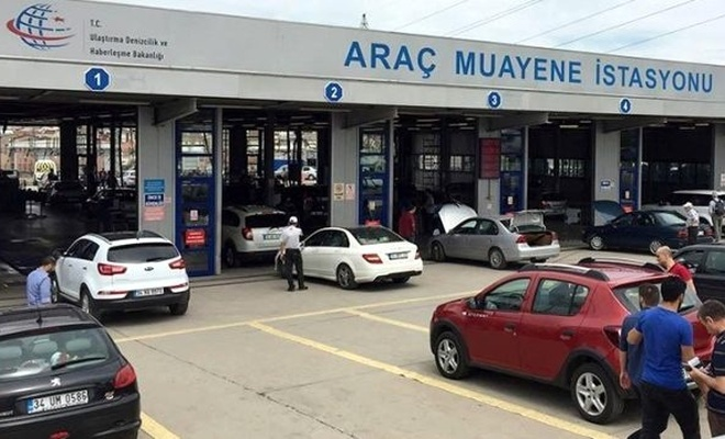 Araç muayene istasyonlarında kredi kartıyla ödeme yapılabilmesi için çalışma başlatıldı