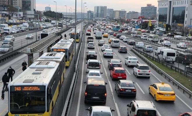 Trafiğe kaydı yapılan taşıt sayısı yüzde 54,8 arttı