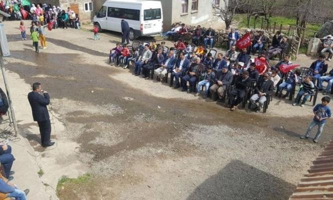 Eşmetaş köyünde Kutlu Doğum etkinliği