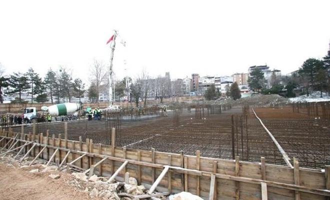 Suluova`nın en büyük camisinin temeli atıldı