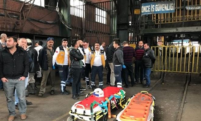 Zonguldak`ta maden ocağında göçük: 2 ölü