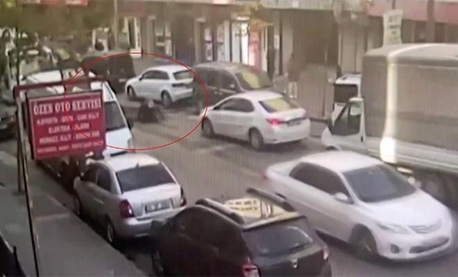 Aracını çekiciden kurtarmak isterken canından oluyordu