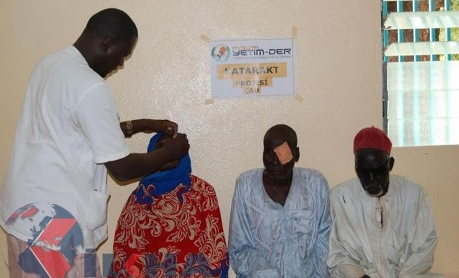 Cataract project from European Orphan-Association in Chad