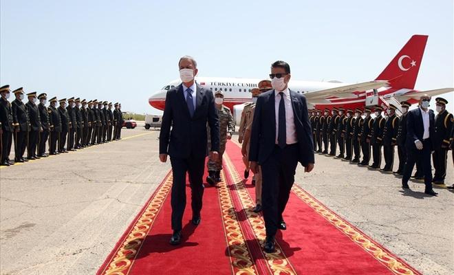Bakan Akar ve Genelkurmay Başkanı Org. Güler Libya'da