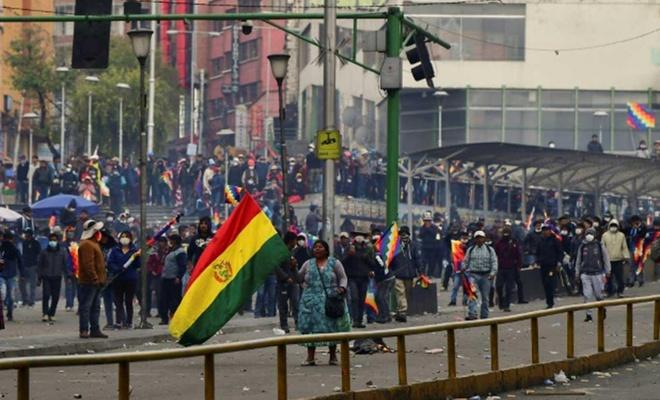 Bolivya'da insani kriz kapıda