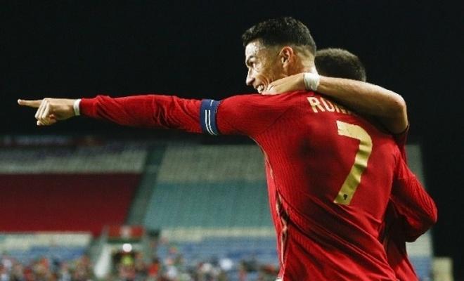 Ronaldo yine rekor kırdı