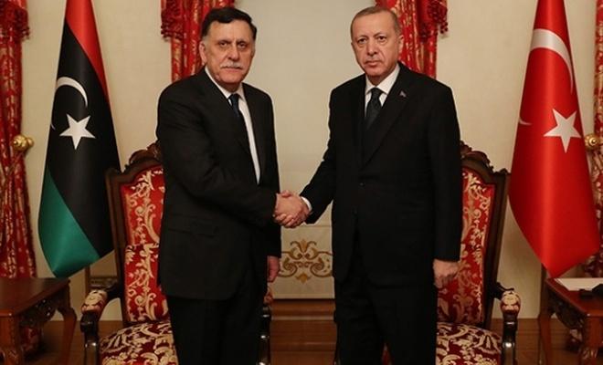 Cumhurbaşkanı Erdoğan, Serrac'ı kabul etti