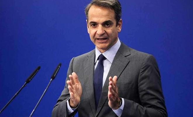 """Yunanistan Başbakanı Miçotakis: """"Gerginlik giderilirse Erdoğan ile görüşmeye hazırım"""""""
