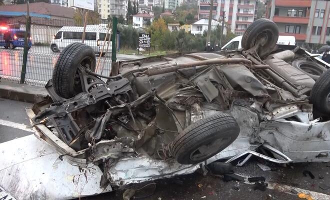 Zincirleme kaza: 1 ölü, 10 yaralı