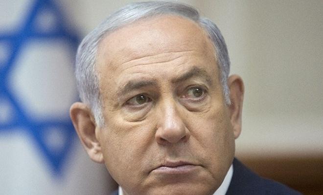 Netanyahu roket alarmı verilince sığınağa kaçtı