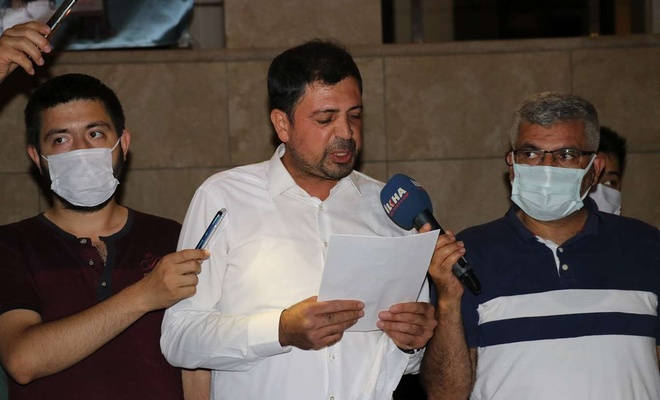 Siyonist işgalcilerin Mescid-i Aksa saldırılarına Malatya'dan tepki