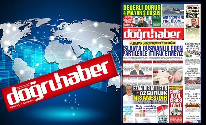 HÜDA PAR Genel Başkanı Yapıcıoğlu:  İSLAM'A DÜŞMANLIK EDEN  PARTİLERLE İTTİFAK ETMEYİZ