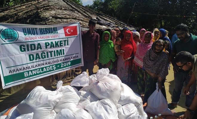 Umut Kervanı, Arakanlılara yönelik yardım çalışmalarına devam ediyor