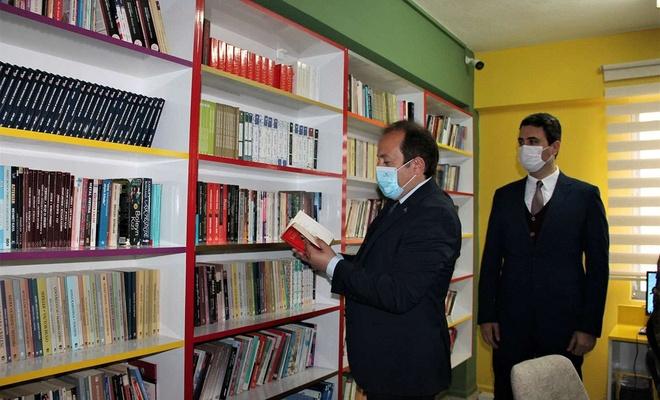 Şırnak'ta Z-Kütüphane'nin açılışı gerçekleştirildi
