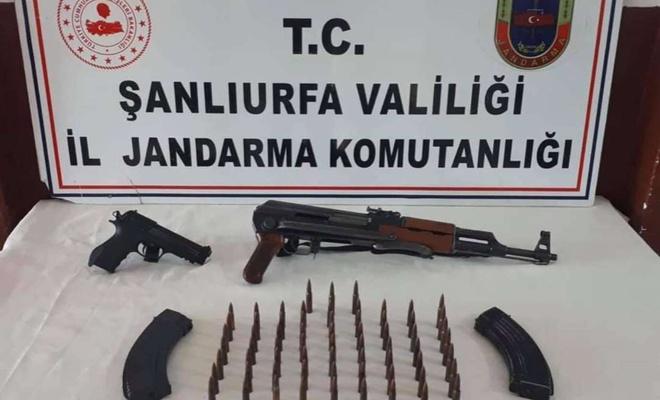 Viranşehir'de silah kaçakçılara operasyon: 1 gözaltı
