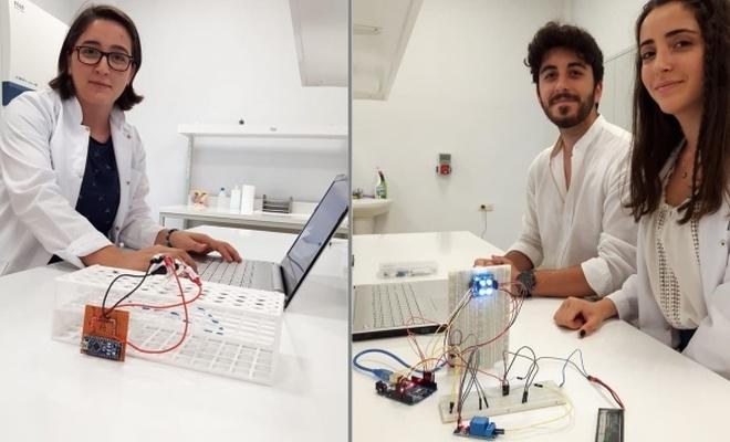 PAÜ`lü öğrencilerden iki faydalı cihaz