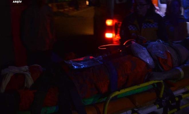 Maden ocağında iş kazası sonucu bir işçi ağır şekilde yaralandı