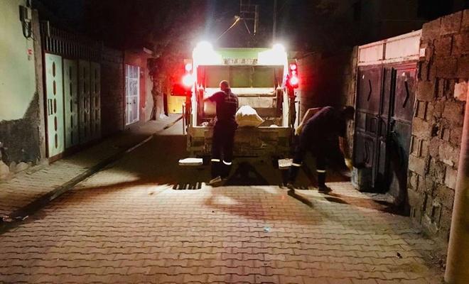 Nusaybin Belediyesi Ramazan ayı boyunca çöpleri gece toplayacak