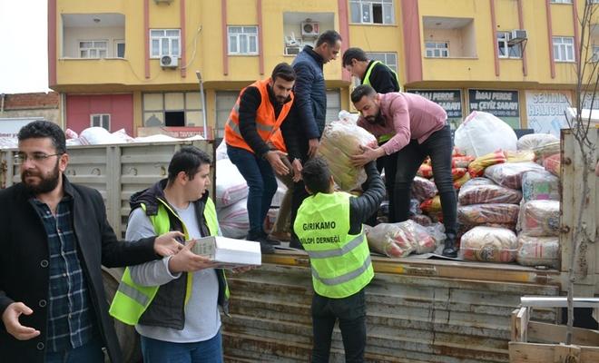 Şırnak'tan Elazığ ve Malatya'daki depremzedelere yardım eli