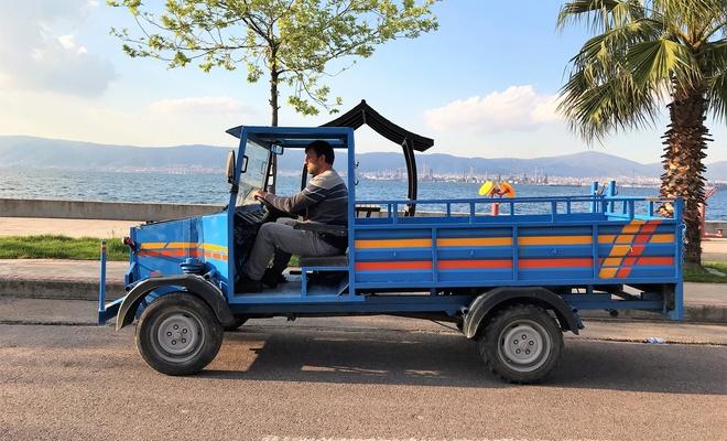 Fabrika işçisi hurdalardan kamyonet yaptı: 1 ton taşıyor!