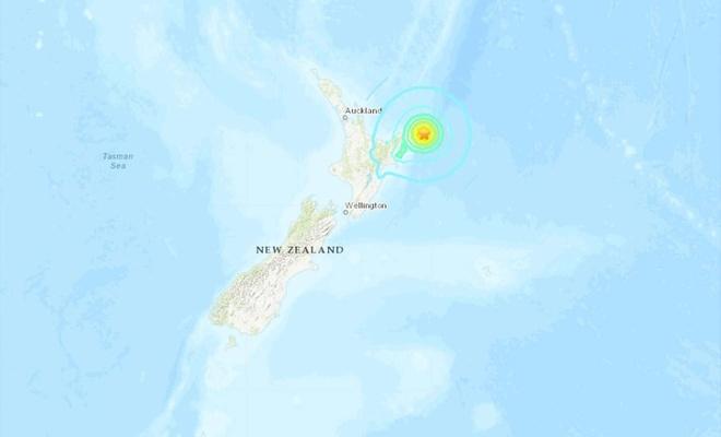 Yeni Zelanda'da deprem: Tsunami uyarısı verildi