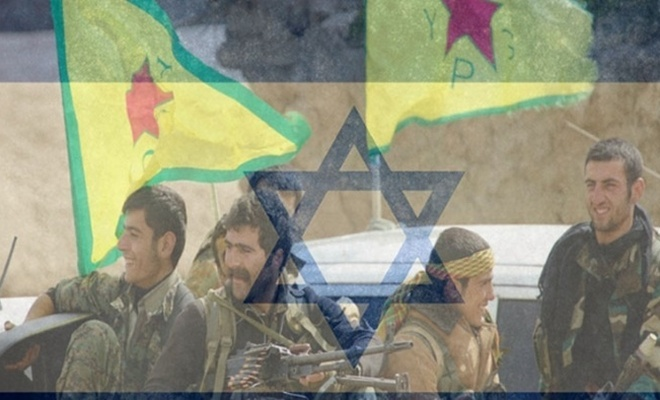 Babasına faizsiz borç vermeyen siyonist YPG/Pkk'ye yağdırıyor