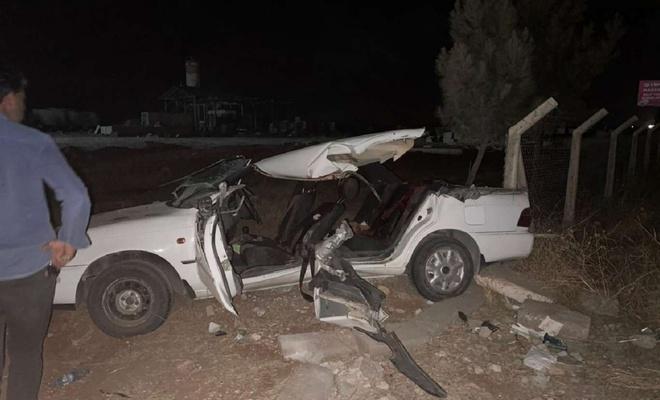 Şanlıurfa'da kepçe ile otomobil çarpıştı: 2 ölü 6 yaralı