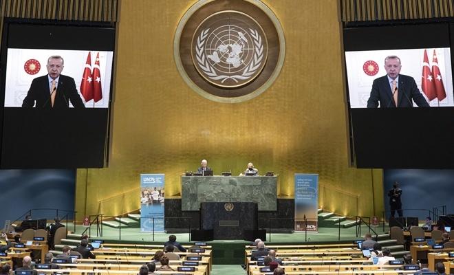 Cumhurbaşkanı Erdoğan, BM Genel Kurulu'na seslendi