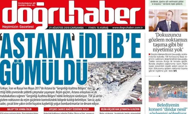 'Astana' İdlib'e Gömüldü