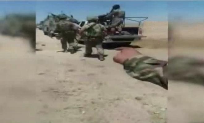 Suriye'de öldürülen Rus generalin öldürülme anı kameralarda