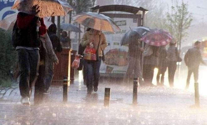 Meteorolojiden Kastamonu Sinop ve Samsun için sağanak yağış uyarısı