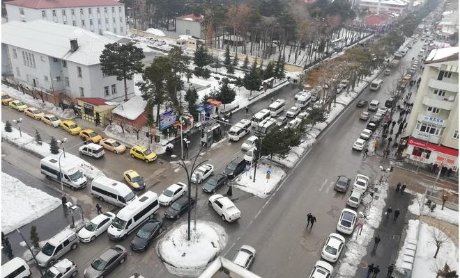 Bitlis'te 3 köy ve 6 farklı mahallede bulunan 10 apartman karantinaya alındı