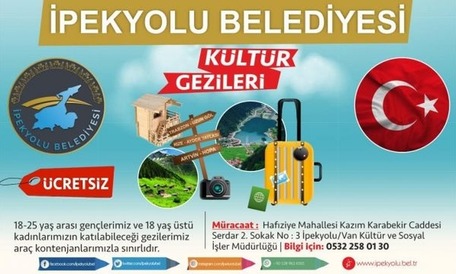 İpekyolu Belediyesinden Karadeniz gezisi