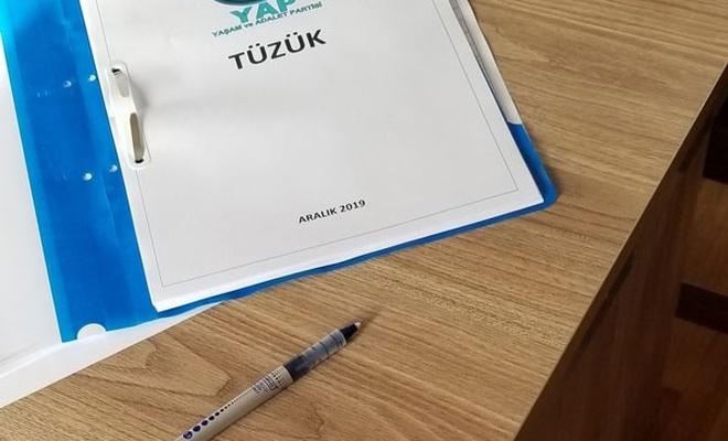 'Davutoğlu'nun partisinin ismi ve amblemi belli oldu'