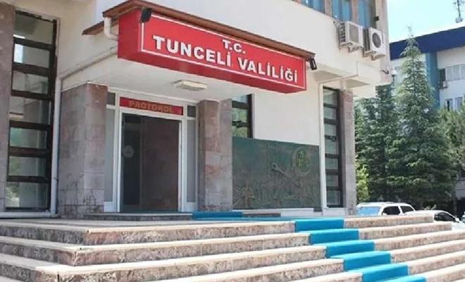 Tunceli'de tüm etkinlik ve gösteriler 15 gün süreyle yasaklandı