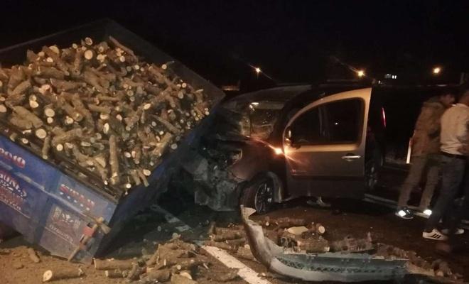 Mardin'de meydana gelen kazada 4 kişi yaralandı